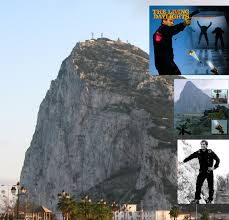 james bond and gibraltar filming the living daylights