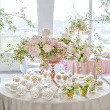 rose gold candy table candybar couture premier source for custom candy and dessert bars
