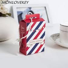bonbonni re mariage 50 pcs mini valise boîte de bonbons bonbonnière cadeau boîtes