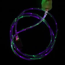 Light Up Iphone Charger Enapy 217890 11 3ft Iphone 6s 6s Plus 6 5 Dual Color Usb Data Sync