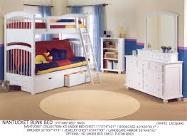 Wooden Bunk Bed With Futon Bunkbeds At Master Bedroom