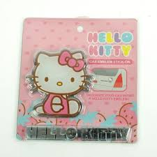 Hello Kitty Hanging Decorations Hello Kitty Kleenex Tissue Box Cover Rose Embroidery For Car Pink