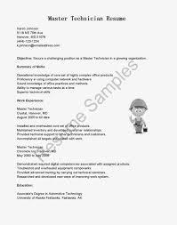 Plumber Resume Master Resume Template
