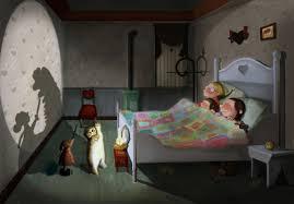 Bedroom Cartoon Cartoon Bedroom At Night Memsaheb Net