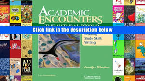 read online academic encounters the natural world student s book