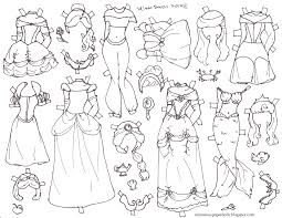 Halloween Princess Coloring Pages Miss Missy Paper Dolls October 2014 Lovely Paper Dolls 9
