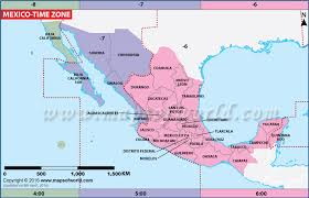 map of time zones usa and mexico mexico time zone map current local time in mexico