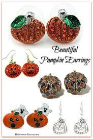 halloween earrings beautiful u0026 fun halloween pumpkin earrings halloween haven