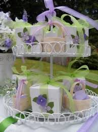 bridal luncheon favors bridal shower ideas for luncheon purple green pretty decor food ideas