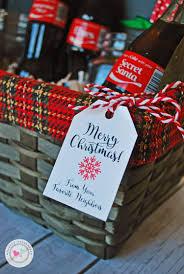 christmas gift basket ideas and printables