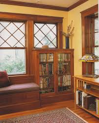 craftsman home interior design terrific craftsman style built in bookcases 54 on home decor ideas