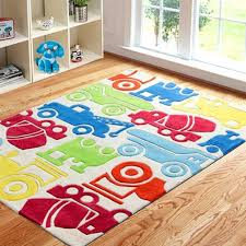Playroom Area Rug Accessory Kid Area Rugs Rug With Colorful Cars For Boys