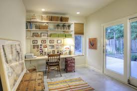 garage office home contemporary with blind wall trim paint