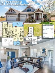 2200 sq ft house plans plan 48529fm 3 bed exclusive craftsman house plan square feet