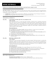 Sales Position Resume Examples by Executive Resume Example Sales Representative Golf Course