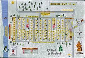 Map Of Portland by Rv Park Of Portland Oregon