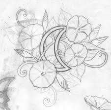 morning glory tattoo by tabard on deviantart