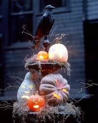Outdoor Halloween Decorations 10 Creepy Outdoor Halloween Decorating Ideas Shelterness