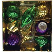 mardi gras ornaments the aisle 8 large mardi gras shaped ornament set