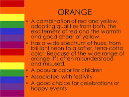 hues of orange the rhetoric of color how does color create meaning ppt download