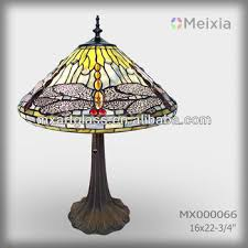 mx000066 wholesale stained glass table lamp shade modern tiffany