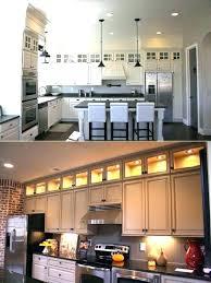 inside kitchen cabinet ideas lighting above kitchen cabinets gettabu com