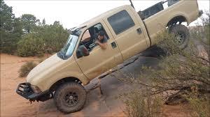 4 door jeep rock crawler 4 door rock crawling powerstroke in moab on fins u0026 things youtube