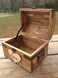 wedding wishes keepsake box rustic wedding chest letter chest notes chest