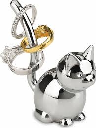 art deco cat ring holder images Ring holders trinket dishes kitchenkapers gif