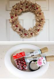 christmas wreaths to make 16 diy christmas wreaths for front door craftriver