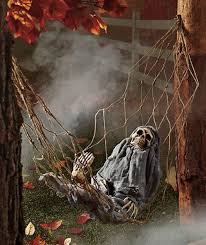 Halloween Skeleton Decoration Ideas Halloween Garden Decoration Ideas Home Designing