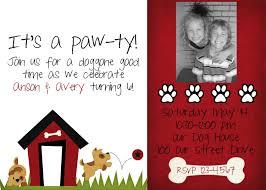 invites kids birthday pinterest dog birthday themed