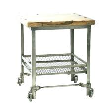 side table on casters desk on wheels small table on wheels chair side table wheels small