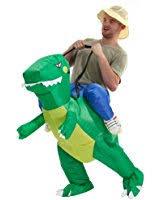 amazon com toloco inflatable unicorn rider costume inflatable