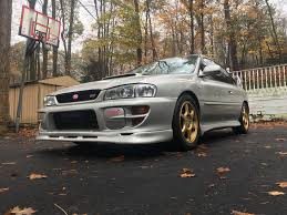 subaru coupe rs my 2000 silver sti coupe subaru impreza gc8 u0026 rs forum