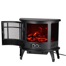 Electric Stove Fireplace Homgeek Free Standing 23