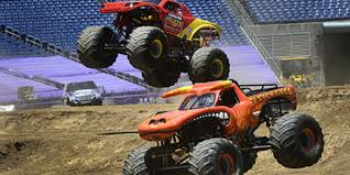 monster truck show phoenix monster jam prepares for show at nissan stadium
