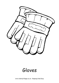 Winter Colouring Pages For Kids Coloring Page Of