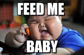 Fat Asian Baby Meme - feed me asian fat kid meme on memegen