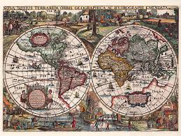 World Map Puzzles by Historical World Map 1636 1 500 Piece Puzzles Ravensburger