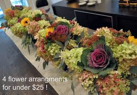 cheap flower arrangements how to make 4 flower arrangements for 25 lifeovereasy