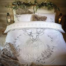 Dunelm Mill Duvets Stag Head Natural Duvet Cover Set Dunelm Home Ideas