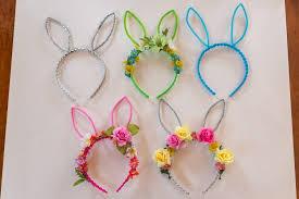 flower headbands diy diy bunny ears flower crown bebehblog