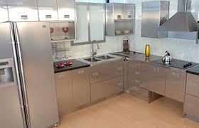 stainless steel kitchen ideas captivating steel kitchen cabinets with stainless metal cabinet