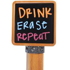 Cheap Kegerator Chalkboard Kegerator Tap Handle Brew Tapper