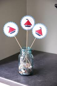 jar centerpieces for baby shower 33 unique nautical baby shower ideas table decorating ideas