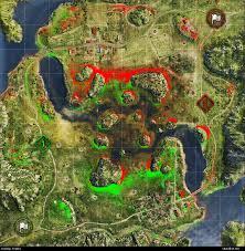 Heat Maps World Of Tanks Heatmap For Swamp