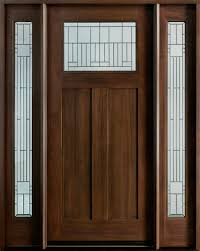 Shaker Style Exterior Doors Craftsman Front Entry Doors In Chicago Il At Glenview Haus