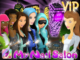 free my nail salon vip new ipad game by webelinx for all girls