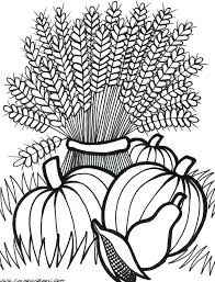 thanksgiving coloring pages for first grade an autumn wreath free